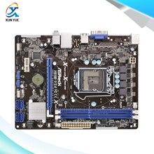 Asrock H61M-VS4 Оригинальный Использовать Рабочего Материнская Плата H61 Сокет LGA 1155 Для i3 i5 i7 DDR3 16 Г Micro-ATX
