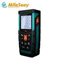 Mileseey X6 70M 100M Laser Rangefinder Meter Measure Distance Hunting Tool Blue Range Finder Tool For