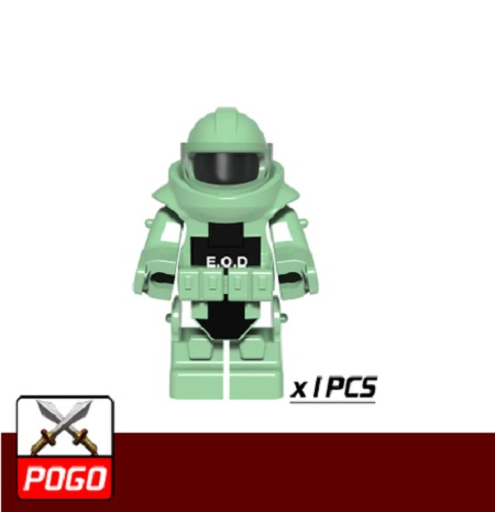 Anti-explosion Clothing Original Blocks Educational Toy Swat Police Military Weapon Accessories Compatible  Mini Figures