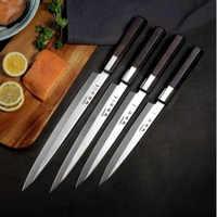 Liang Da Sashimi couteau 5Cr15Mov haute qualité professionnel poisson filet couteau saumon Sushi couteau Cuisine Cuisine couteau cadeau boîte