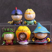 5pcs/set Game South Park Figure The Stick of Truth Kyle Cartman Kenny Stan Butters Jimmy PVC Action Figure Collectible Toys