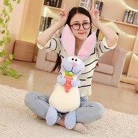 Soft Cute Rabbit Holding Carrot Plush Toy Doll Rabbit Doll Children Birthday Gift Valentine's Day Gift