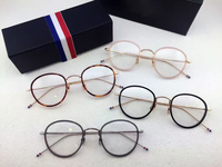 High quality eyeglasses frames TB905 men women Vintage prescription eyewear frames Round Reading glasses with box