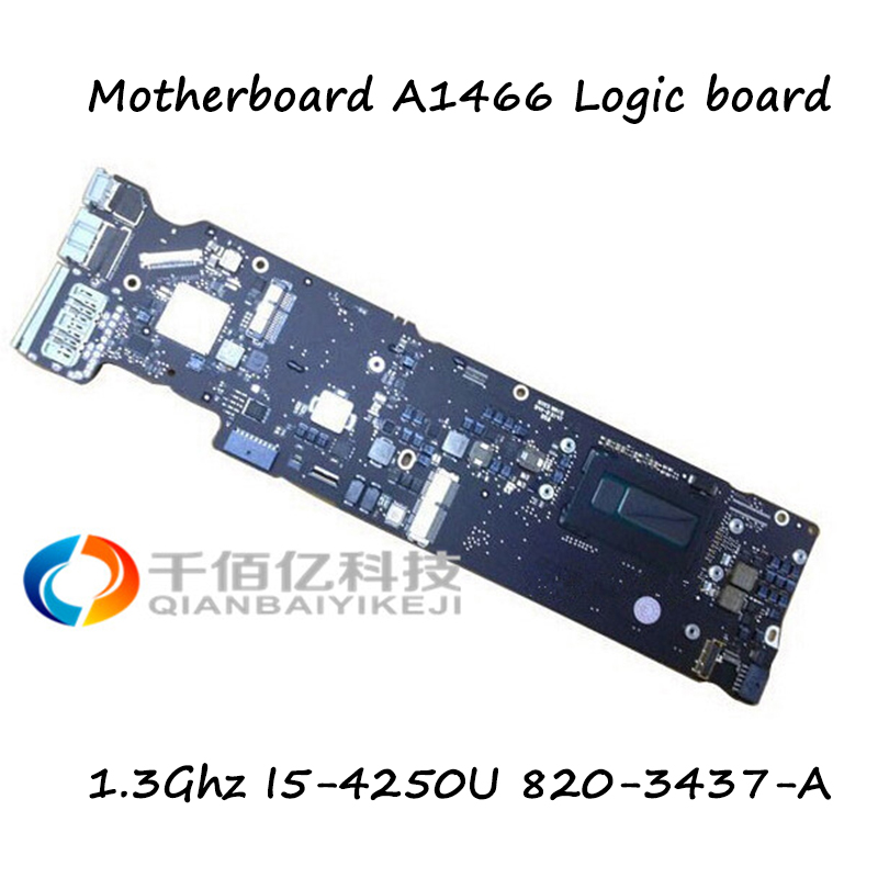 100 Working Genuine A1466 Laptop Motherboard Mid 2013 Year Logic Board For font b MacBook b