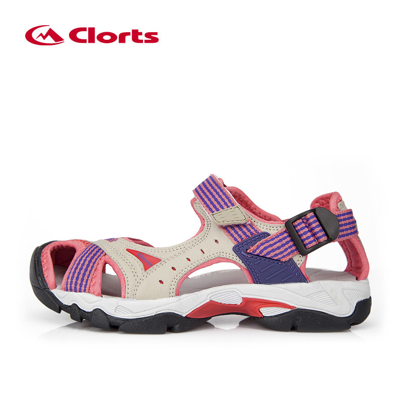 Clorts Sandals for Women PU Breathable Aqua Shoes for Hiking EVA Sport Outdoor Sandals Women Hiking Sneakers SD-202Clorts Sandals for Women PU Breathable Aqua Shoes for Hiking EVA Sport Outdoor Sandals Women Hiking Sneakers SD-202