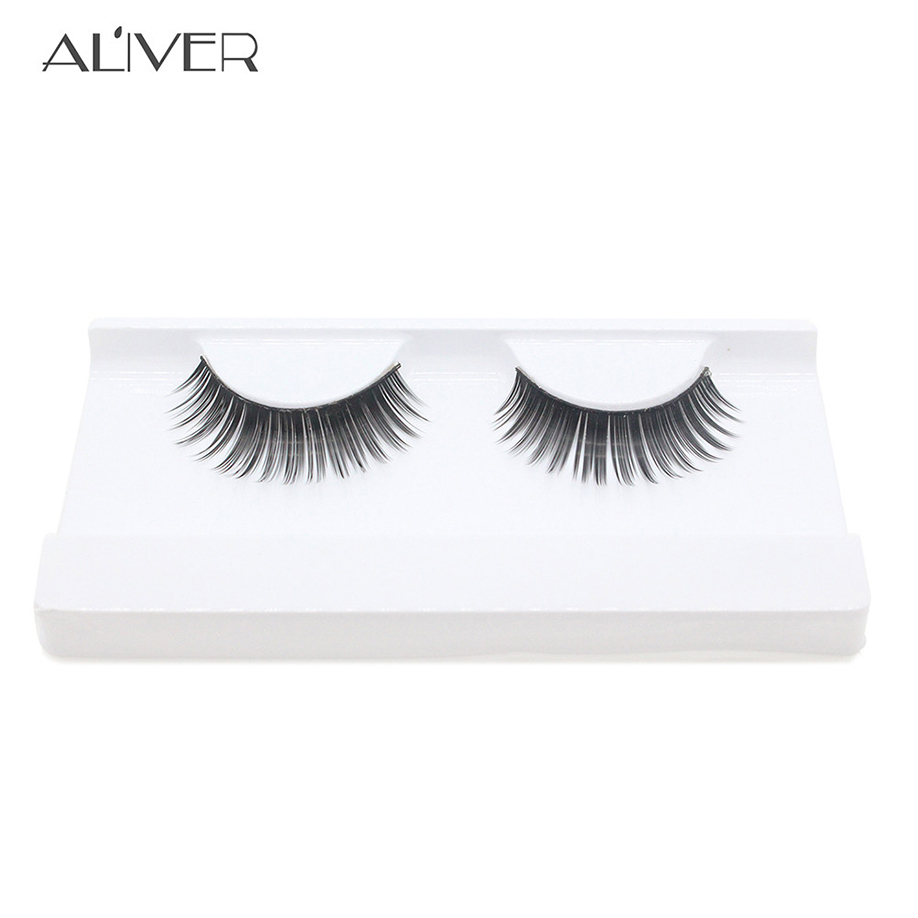 Beauty & Health Fashion Style Maange Faux Cils Natural Cilios Posticos 1 Pairs Thick Long Cross Party False Eyelashes Black Band Fake Eye A Extensions Tools