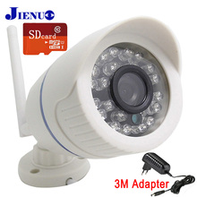 720P 960P 1080P ip camera wireless Security surveillance video camera WIFI SD card solt onvif JIENU