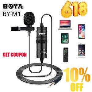 Microphone BOYA BY-M1 6m Clip-
