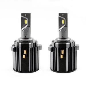 Image 1 - mk7 headlight bulb white canbus error free low beam 60W 7600LM 6000K 12V waterproof csp h7 led for golf 7
