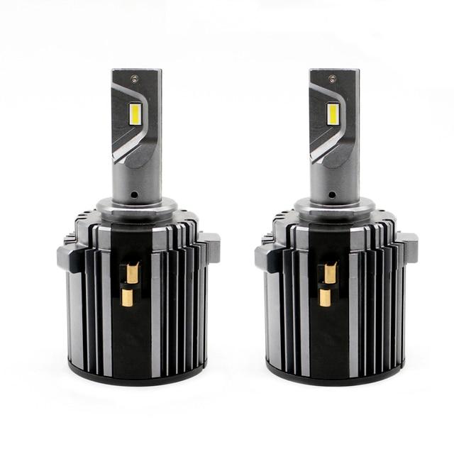 mk7 headlight bulb white canbus error free low beam 60W 7600LM 6000K 12V waterproof csp h7 led for golf 7