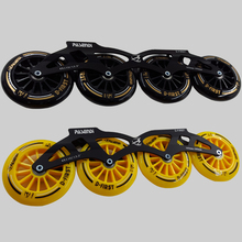 Professional speed skating shoes roller skates inline skate frame and wheels