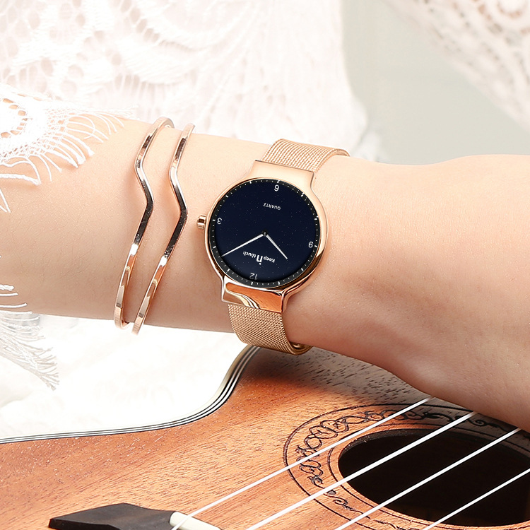 Saat Super Slim Rose Gold Stainless Steel Mesh Women Watches Luxury Brand Casual Clock Ladies Wrist Watch Lady Relogio Feminino watch women luxury brand lady crystal fashion rose gold quartz wrist watches female stainless steel wristwatch relogio feminino