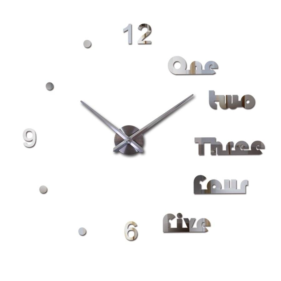 ใหม่ 3d นาฬิกาแขวนนาฬิกา diy - การตกแต่งบ้าน