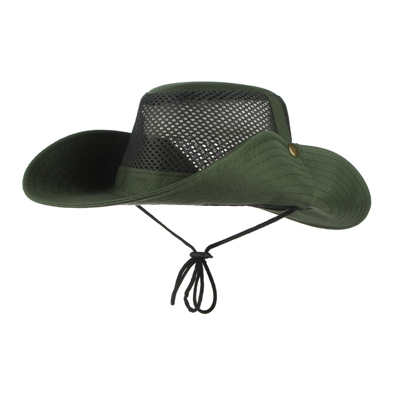 24047084a16 Summer Bucket Hats For Men Outdoor Fishing Hiking Foldable Wide Brim Sun  Hats Fisherman Cap Sombrero Military Boonie Hat