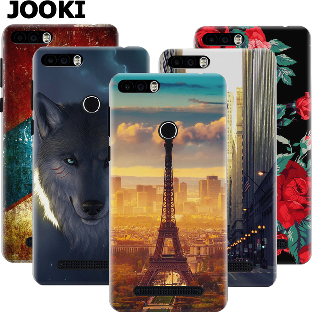 new product 502a5 fa855 US $9.98 |JOOKI Back Case Leagoo kiicaa Power Flip Cover Hard Slim Case  Leagoo kiicaa Power Plastic Fashion Happy Print Flower Tower Case-in ...