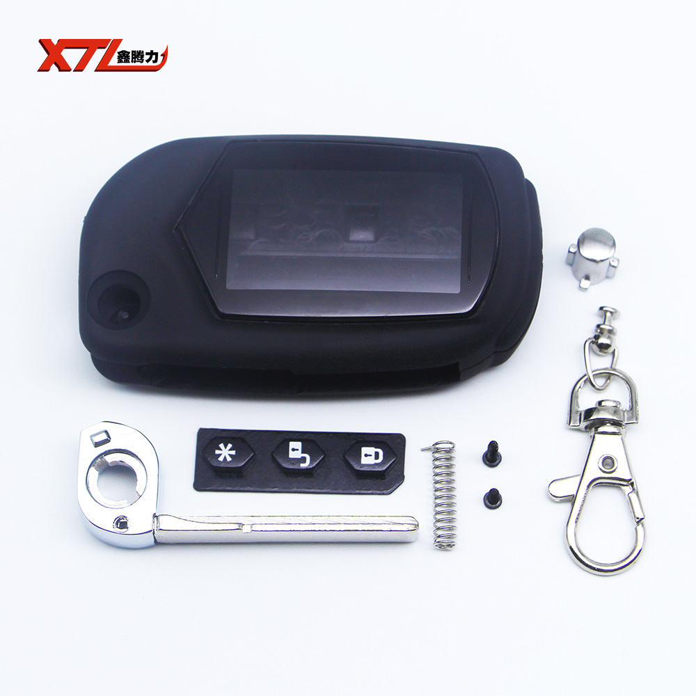 A91 folding car flip key starline remote case Starline A91 A61 B9 B6 uncut blade fob case cover free shipping