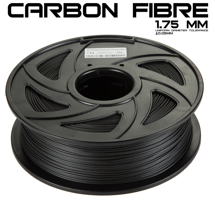 New PLA 3D printer filament consumables 1.75MM 1KG carbon fiber material The toughness carbon fiber containing 3D pen supplies new pla 3d printer filament consumables 3d print pen supplies 1 75mm 1kg metal filament upgraded quality for 3d printer