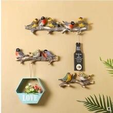 Красивые птицы творческие украшения для стен искусственные красивые