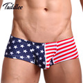 Taddlee Brand Mens Sexy Underwear Boxer Shorts Trunks Low Waist Designed Mens Boxers Cotton Gay Penis Pouch WJ Men's Boxers Hot