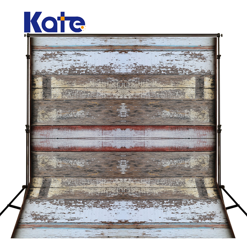 Kate White Retro Wood Background Photography Wall Old Village Wooden Achtergrond Fotostudio Washable For Children Photo Studio kate christmas backdrop photography brick wall white bear tree box background white floor for children photo studio background