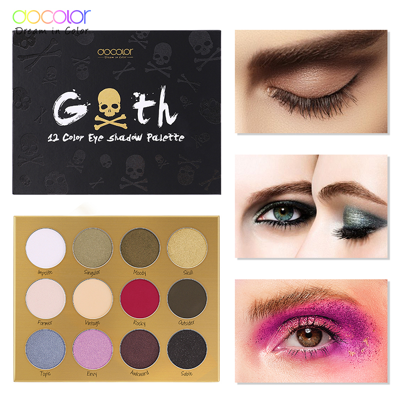 Docolor 12 Color Charming Eyeshadow