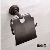 All copper antique copper towel rack towel rack bathroom accessories whole package simple and basket assembly