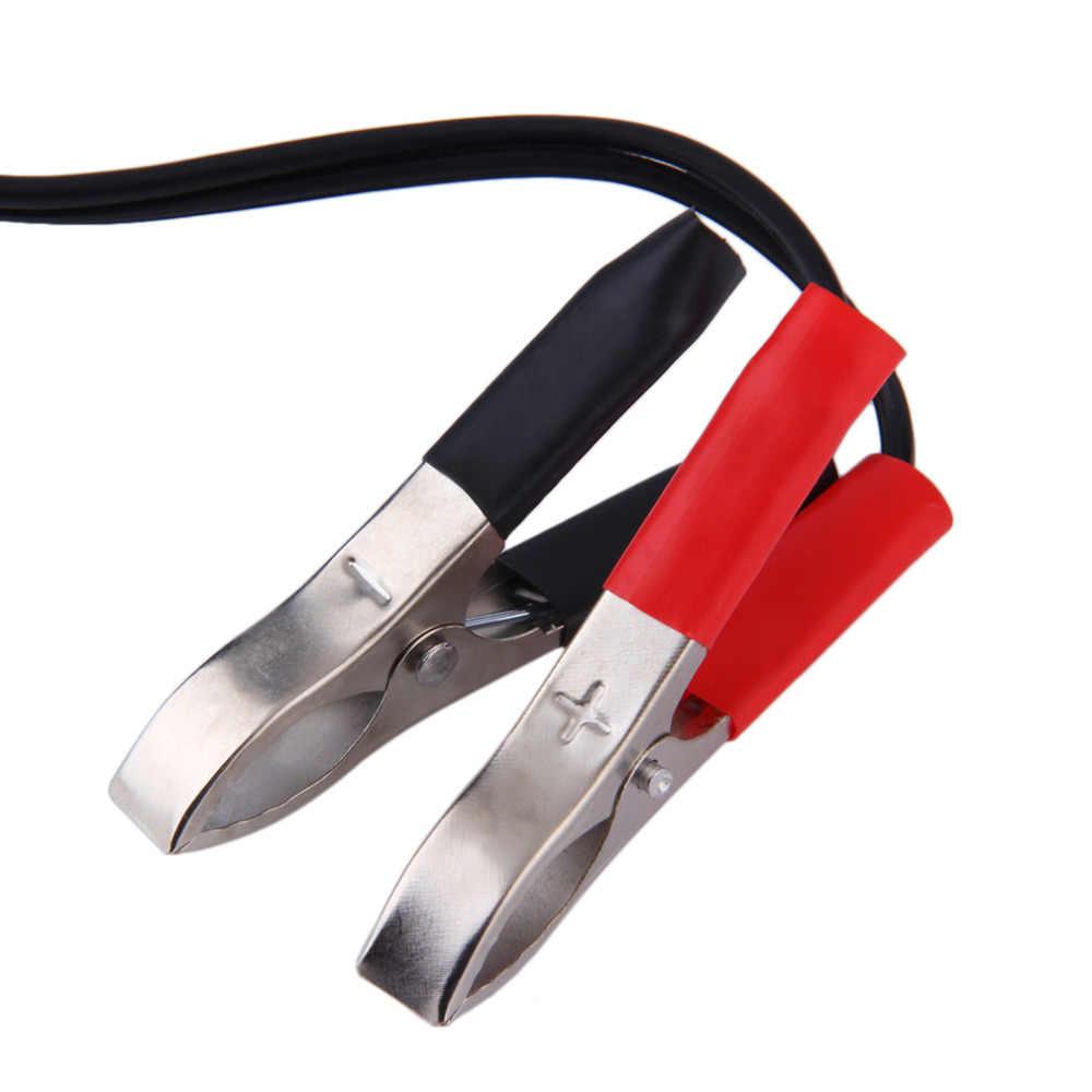Новый 12 вольт зажим для клеммы аккумулятора-на сигаре Прикуриватель разъем питания адаптер штекер автомобиля Лодка ван для кемпинга Лидер продаж