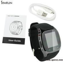 Symrun 2015 Update M26 Drahtlose Bluetooth Smartwatch Smart Armbanduhren Digitaluhren Sync Telefon Smartphone Uhr