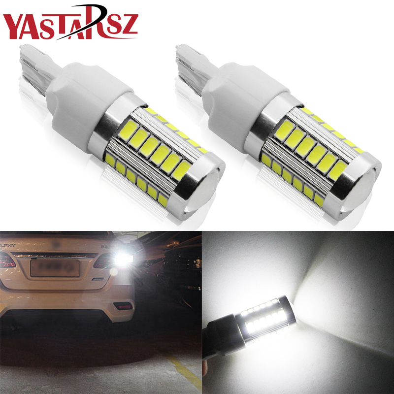 1PCS T20 7443 W21/5W 33 SMD 5630 5730 LED Car Yellow Amber Turn Signals 21/5W Red Brake Lights White Parking Bulb Auto Fog Lamps image