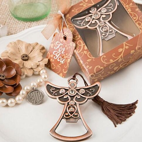 100pcs Angel Bottle Opener Wedding Favors Gifts Wedding Gifts For