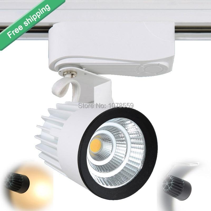 LED Track Light 15W COB Stropní kolejnice pro závěsné kuchyňské oblečení Obchod Boty Obchod Maloobchodní Bodové nástěnné svítidlo Rail reflektory