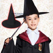 Negro de Halloween bruja sombrero adulto Academia traje BOLA MÁGICA Cosplay  para el partido 0d3a532d784