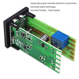 Image 4 - REX C100 Двойной цифровой ПИД регулятор температуры от 0 до 400 градусов, термостат SSR, выходные комплекты с датчиком зонда типа K