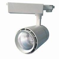 Led Track Light COB 30W rail light CREE Chips Led spot Tracking light AC85 265V Wall Lamp Rail Spotlights Replace Halogen Lamp