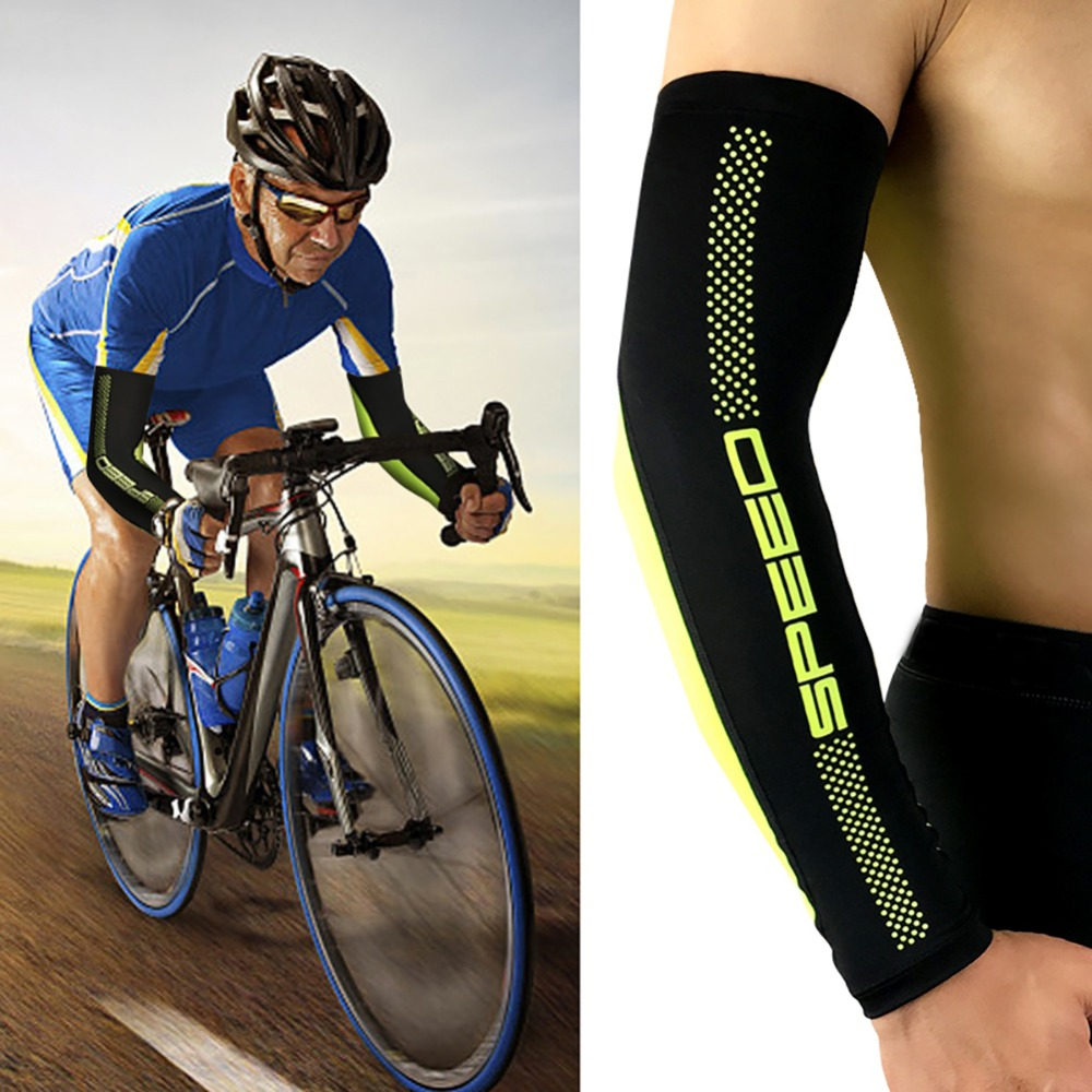 BOODUN Manguitos de Bicicleta Hombres Mujeres para Deporte al Aire Libre Anti-UV Mangas Deportivos Ciclismo Senderismo Ropa Protecci/ón Solar Estampado Transpirable Tatuajes