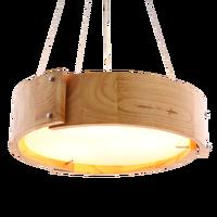 Современная гостиная Люстра потолочная лампа подвесной потолочный светильник персонализированные твердые деревянные подвесные светильн