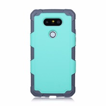 For LG G5 K7 K10 Phone Case Hybrid Dual Layer Soft Rubber Protective Shockproof Cover for LG LS775