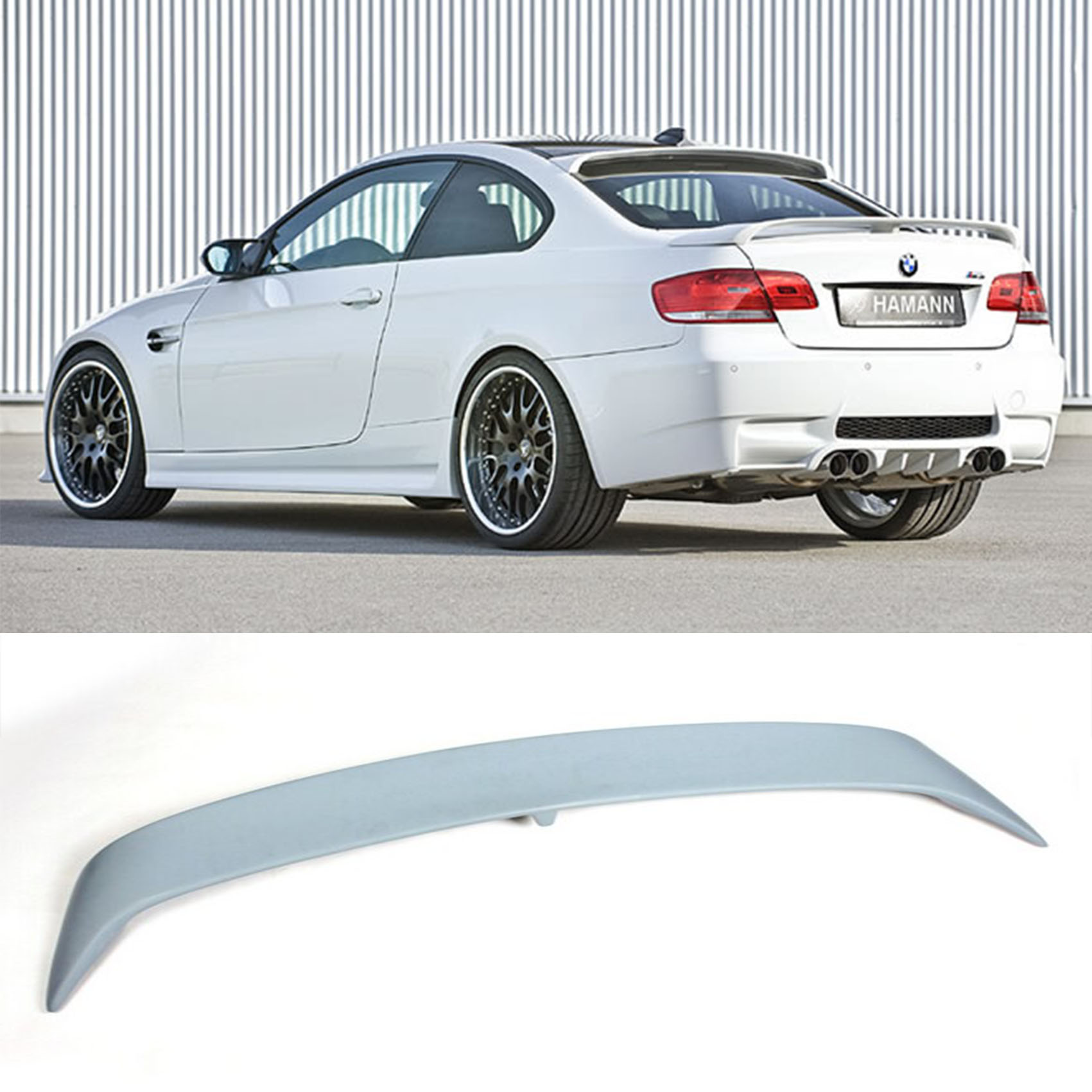 Frp e92 coupe car rear spoiler wing hm style for bmw 3 series 2006 2013