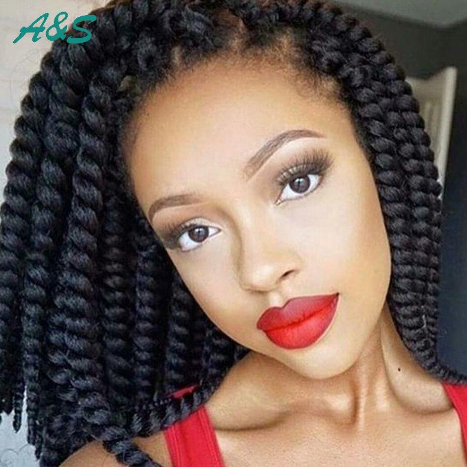 Pretty Girls Crochet Braids Hair Extension Crochet Twist Hair 2x