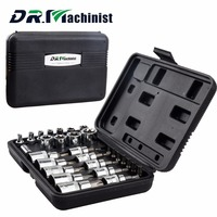 DR.Machinist 29PCS Star Set Male Female Sockets With 1/4 3/8 1/2 Torx Sq Drive Bit Universal Wrench Auto Car Repair Tools