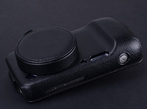 Top Quality Genuine Leather Case For Samsung Galaxy S4 Zoom SM C101 C1010 Lens Cowhide Cover