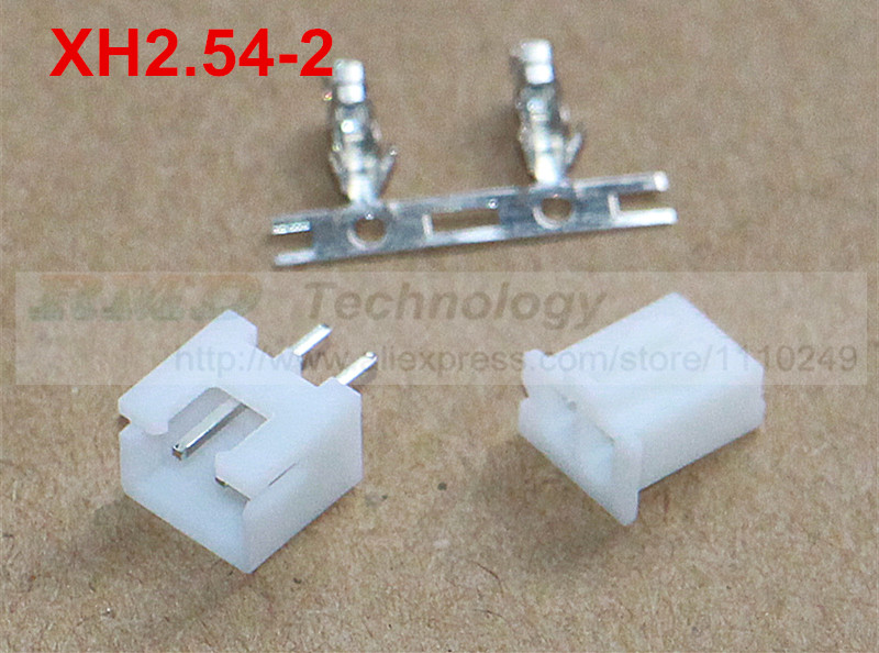 50set/lot XH2.54 - 2p 2.54 mm connector 50 pcs female housing + 50pcs male header + 100pcs terminal 2.54mm 2pin free shipping 100pcs lot 4 8 male and female insulated terminal insert the plug sheathed wire terminal connector 0 2 1mm2