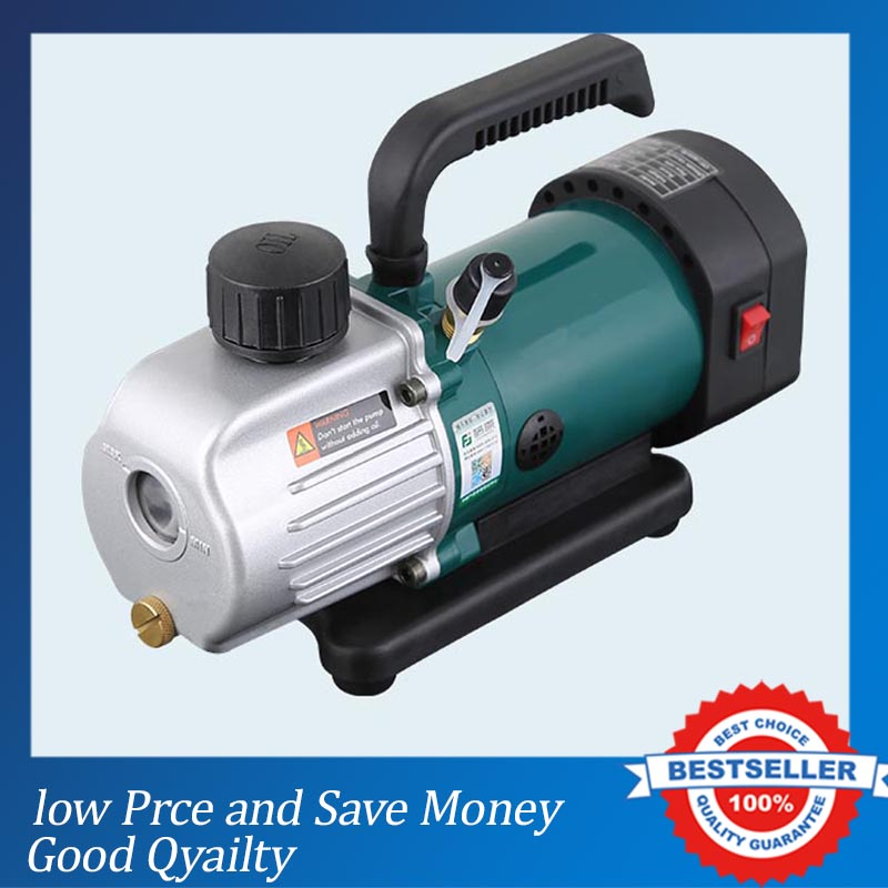 PVC-2M 110V/220V Single Stage Vacuum Pump Poxrtable Air Suction Pump цена
