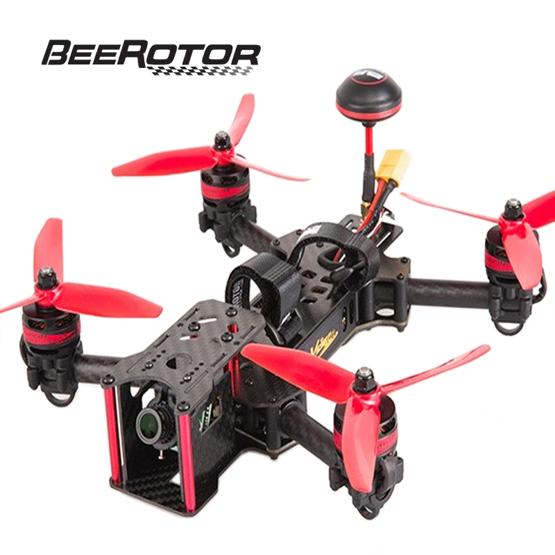 BeeRotor Victory 230 FPV Drone Quadcopter 40CH ARF Fully Assembled Racer with Camera 2205 2300KV RED Motor Version RC Drone