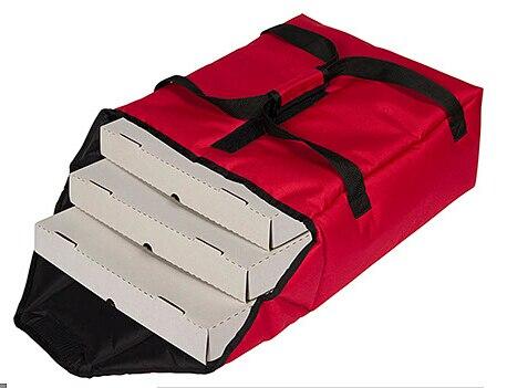 Caixas de Pizza Bolsa de Isolamento Bolsa de Comida Bolsa da Entrega da Pizza para 12 Pizza Térmico Tirar Comida