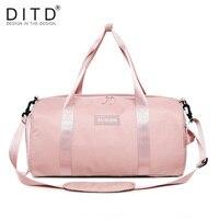 Men Nylon Waterproof Travel Bag lady Large Capacity Fitness Bags Lightweight Gym Bag 2019 Fashion Messenger Bag Shoulder handbag