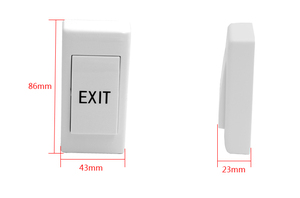 Image 5 - Mini  Exit Button Door Release Push Exit Door used for access control system,min:1pcs