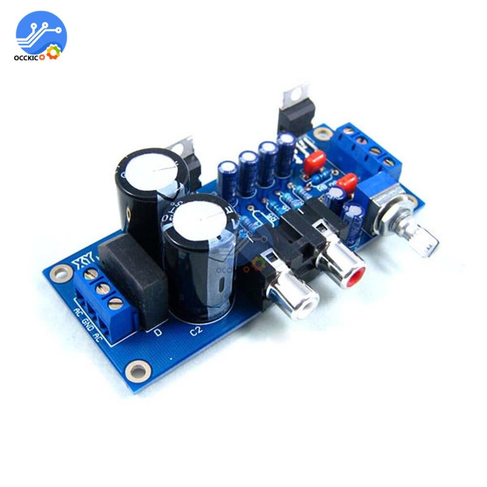 TDA2030A Amplifier Board Audio Power Speaker Amplifier DIY Kit For Arduino 18W x 2 BTL Amplificador Transceiver