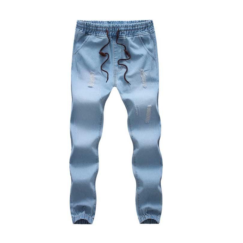 U20dd2016 New Mens Fashion Clothing u20aa Bottom Bottom Mens Stylish Ripped u0f3c u1ed9_u1ed9 u0f3d Jogger Jogger Jeans ...