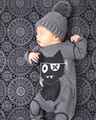 New Autumn fashion baby boy clothes long sleeve baby rompers newborn cotton baby girl clothing jumpsuit infant clothing